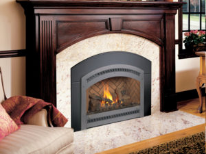 34 DVL Gas Insert Fireplace by Fireplacex