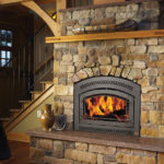 36 Elite Wood Fireplace by Fireplacex