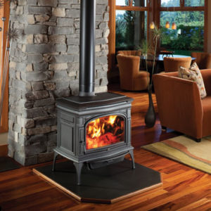 Cape Cod Wood Stove by Lopi